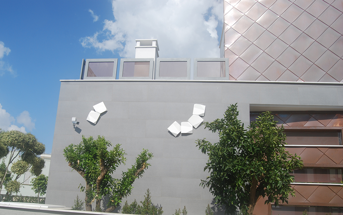 Exterior Wall Origami Vibia